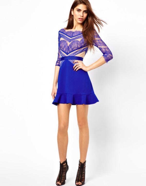 dress skirt blue