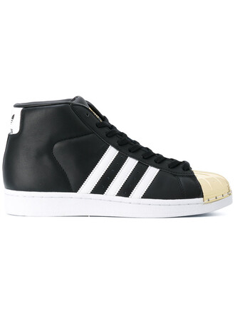 metal women sneakers leather black shoes