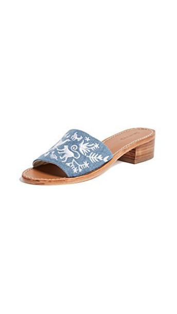 Soludos sandals denim shoes