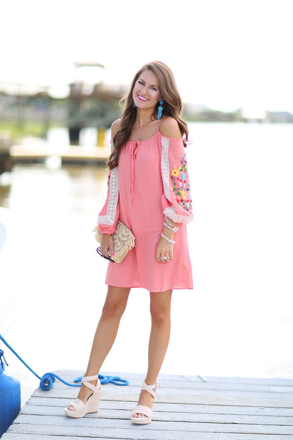 Dress southern curls and pearls blogger off the