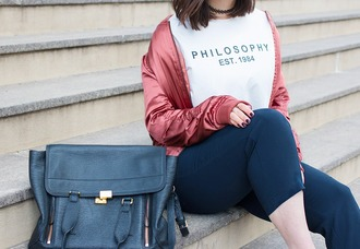 adventures in fashion blogger jacket t-shirt pants shoes sunglasses bag