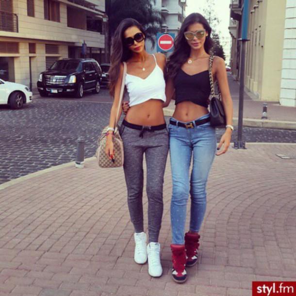 pants blouse shoes shirt