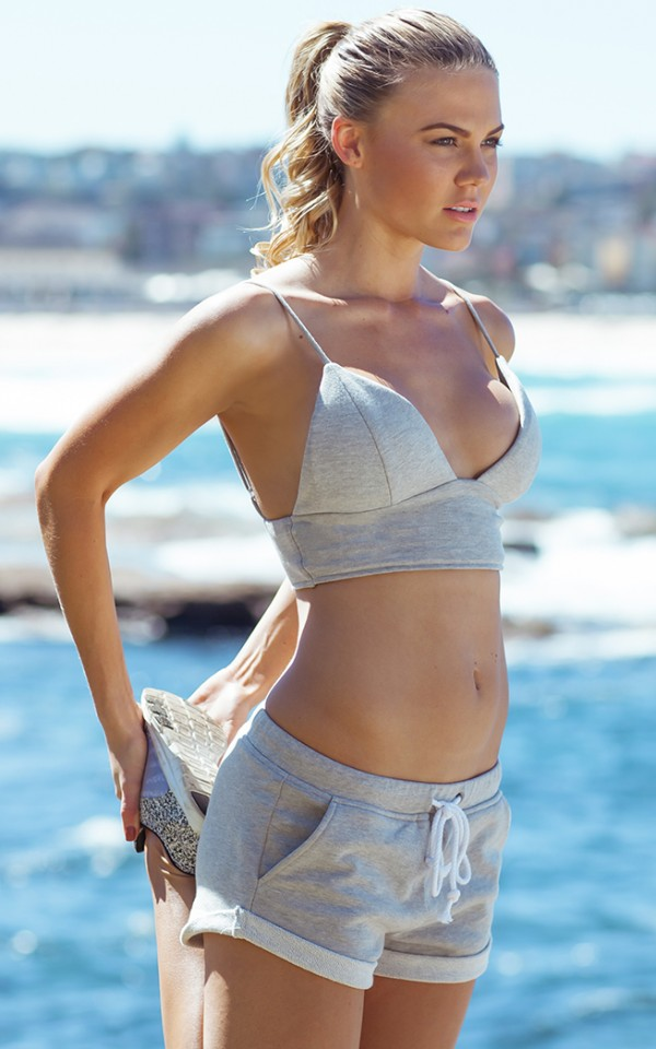 Work It two piece set in grey