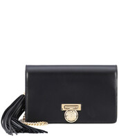 leather clutch,mini,clutch,leather,black,bag