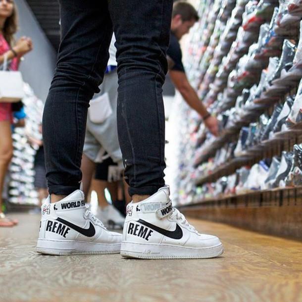 outlet store 0a4f0 14b38 shoes supreme nike air force 1 jordan nike