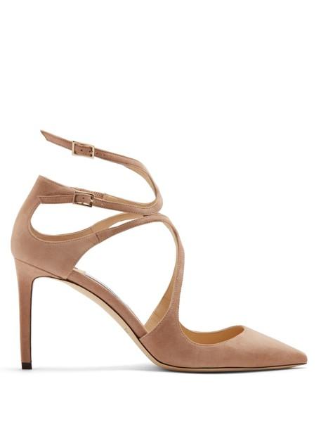 suede pumps pumps suede nude shoes