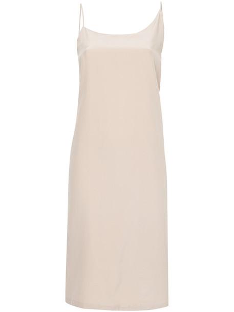 Kacey Devlin dress wrap dress women silk purple pink
