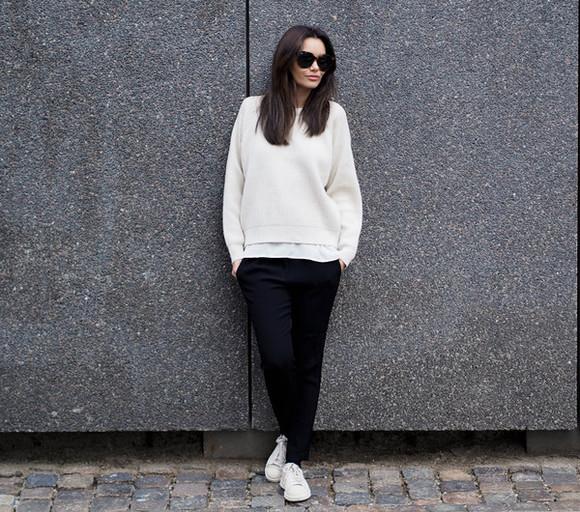 casual blogger sunglasses by funda jumper