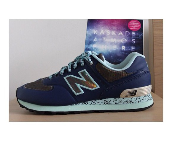 shoes navy blue new balance