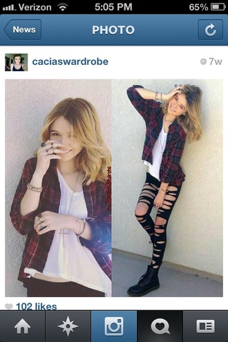 shirt hipster indie acacia brinley cute top plaid plaid top