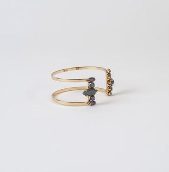 jewels gold trendy bracelets fashion bikiniluxe