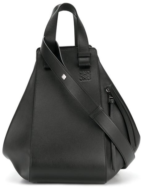 LOEWE women bag leather black
