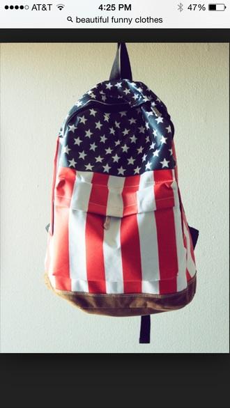 bag flag backpack
