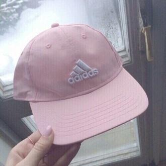 hat cap nail polish pink adidas