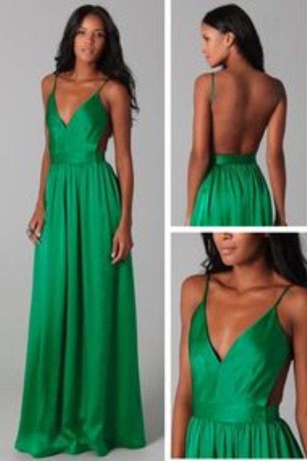 dress green dress maxi dress backless dress lavender any color a-line prom dress satin prom dress v-neck prom dress charming prom dress green backless dress