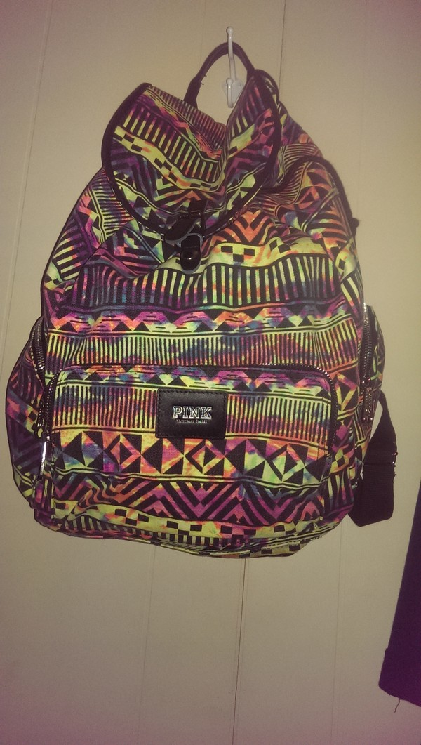 bag backpack victoria's secret victoria's secret pink by victorias secret
