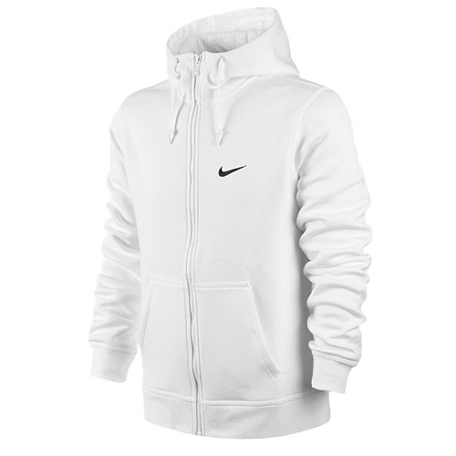 Club Swoosh Full Zip Hoodie - Men's at Eastbay
