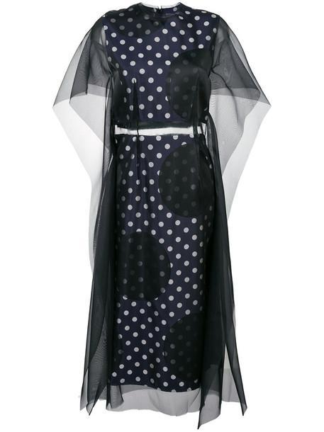 MAISON MARGIELA dress women black silk