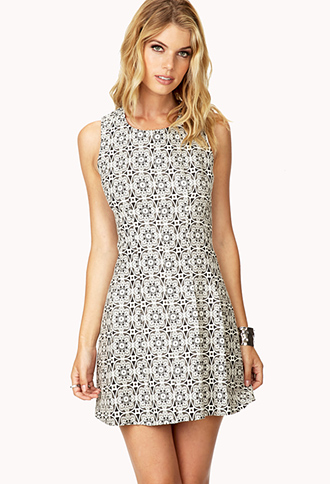 Surrealist A-Line Dress | FOREVER21 - 2000066600