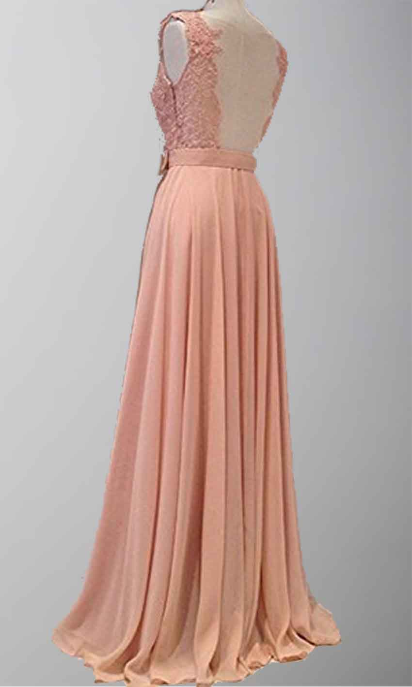 Pink lace v neck sexy open back long prom dresses ksp301 for Cheap lace wedding dresses uk