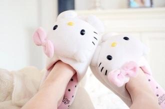 shoes slippers hello kitty kawaii