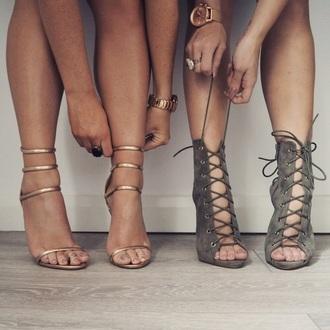 shoes lace up khaki heels sandals pointed toe pumps peep toe heels peep toe boots