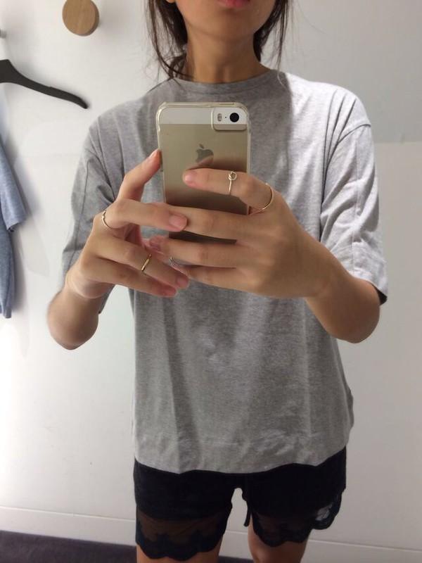 jewels ring knot shirt t-shirt shorts scalloped