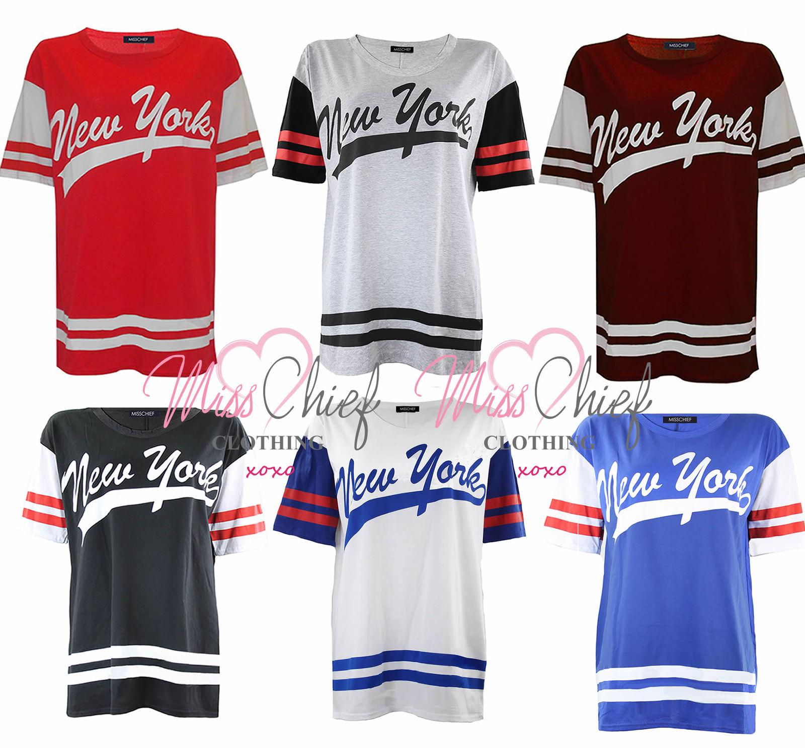 new ladies womens varsity american baseball new york jersey