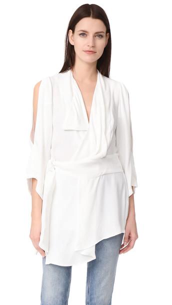 Acler Swindon Shirt - Ivory
