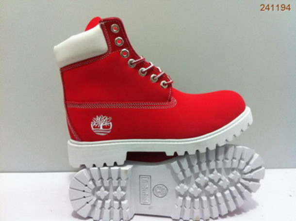 premium selection ab197 3ef64 shoes timberlands red white boots hat red timberlands red timberlands red  timberlands red timberlands