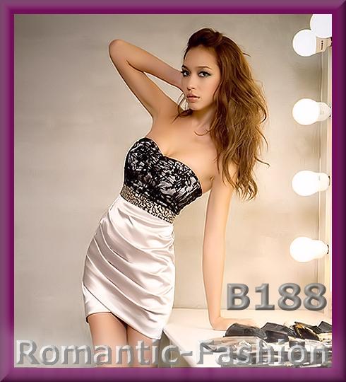 ♥Sexy Abendkleid, Partykleid Ballkleid  Schwarz/Silber NEU B188♥   eBay