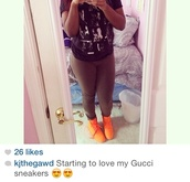 shoes,gucci,orange,sneakers