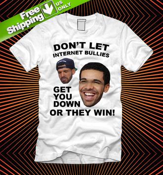 t-shirt drake meek mil mill millz internet twitter beef