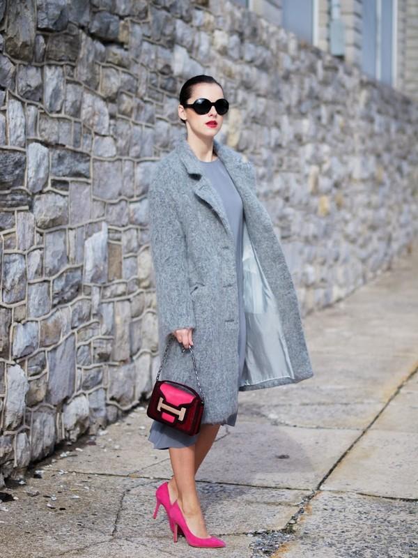 bittersweet colours dress coat bag shoes sunglasses jewels
