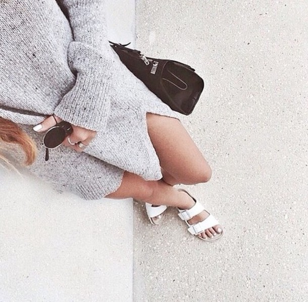 sweater grey long sweater shoes dress sweater dress light fall outfits style lightgrey fall sweater fall outfits