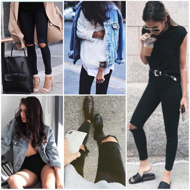 coat jacket lioness divergence clothing grungeback to school shopping for back to school stores like nasty gal ripped jeans grunge jean jacket jean jacket oversized denim grunge jean jackets blue jean jackets back to school