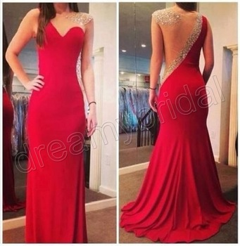Aliexpress.com : Buy Free shipping Sexy Myriam Fares open back mermaid long sleeves Prom dresses short evening dress new fashion 2014 new arrival from Reliable dress womens suppliers on Suzhou dreamybridal Co.,LTD