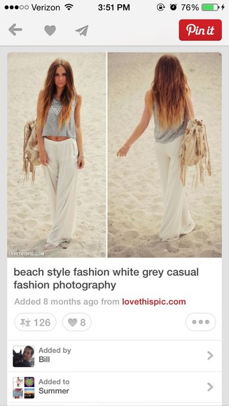 blouse flowy pants highwaisted shorts beach style