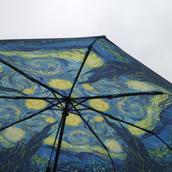 home accessory,umbrella,vincent van gogh,van gogh,starry night van gogh