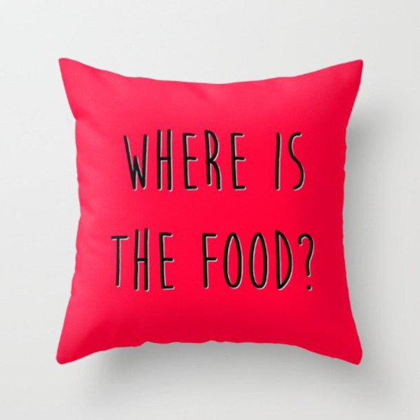 home accessory where is food quote on it funny funny funny