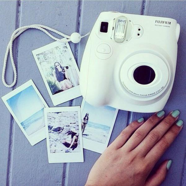 home accessory fujifilm polaroid camera instax instax mini 8 camera summer photos