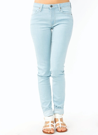 GJ | Basic Skinny Jeans $45.40 in BLACK LTBLUE WHITE - Fashion Basics | GoJane.com