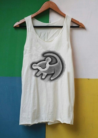 tank top lion king