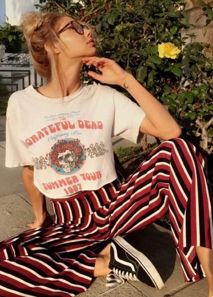 pants, vintage, stripes, stripes, stripes, colorful ...