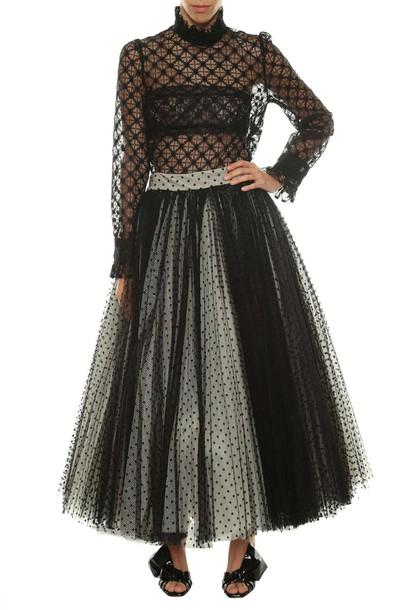 Philosophy di Lorenzo Serafini skirt lace skirt lace