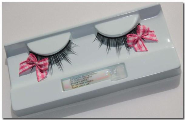 eyelashes bows kawaii kawaii accessory