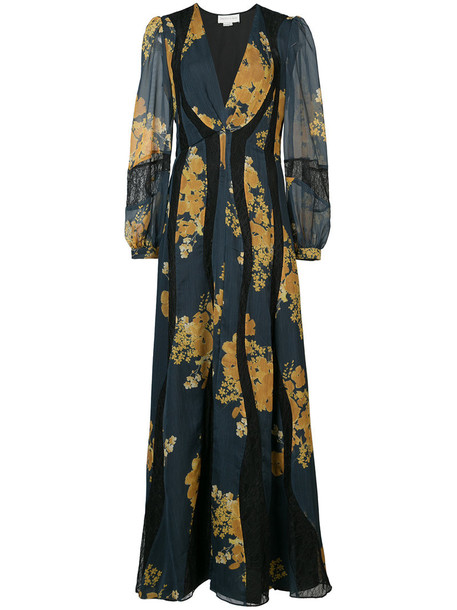 Sachin & Babi dress print dress women floral print blue
