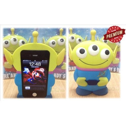 Amazon.com: disney 3d 3 eyes toy story alien movable eye hard case protector shield cover iphone 4/4s gift: cell phones & accessories