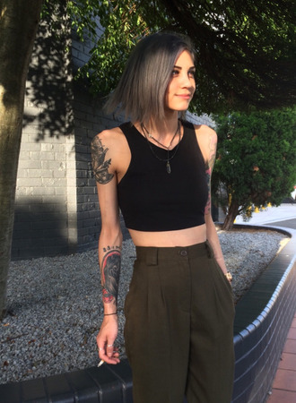 pants military style