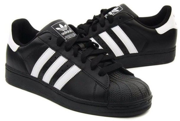 black and white adidas shoes